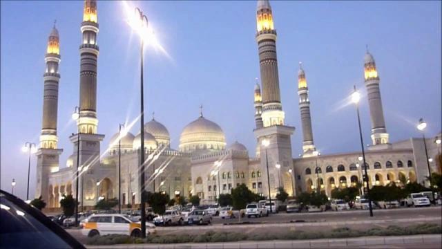 جامع الصالح الذي بناه الرئيس اليمني الراحل علي عبدالله صالح