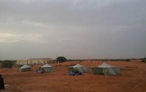 مخيم شارع مسعود