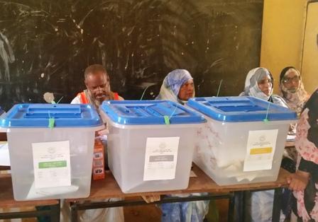مكتب التصويت
