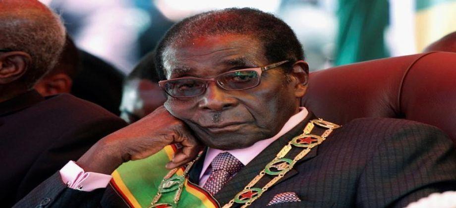 رئيس زيمبابوي روبرت موجابي