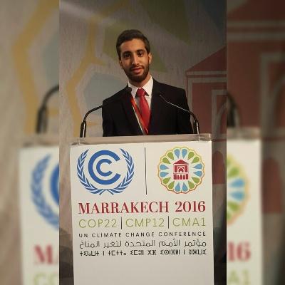 الشاب المغربي عبد العزيز