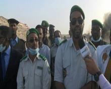 المفتش رئيس المركز السيد محمد الأمين ول محمد عبد الرحمن ول أمين