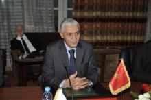 وزير الشباب والرياضة رشيد الطالبي العلمي