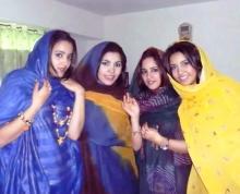 الفتيات الموريتانيات