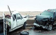 خطييييير..وفاة شخصين وسقوط عدد من الجرحي بسبب حادث سير مروع ..