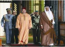 ملك المغرب يصل قطر