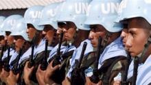 جنود القبعات الزرقاء