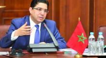 اصر بوريطة وزير الشؤون الخارجية والتعاون الدولي المغربي