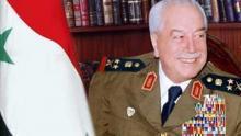 وزير الدفاع السوري مصطفى طلاس
