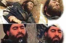 جثة زعيم تنظيم داعش