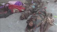 مجزرة جديدة بشعة ضد الأطفال والنساء في اليمن